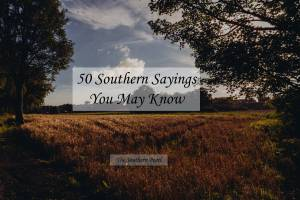 50 Southern Sayings You May Know