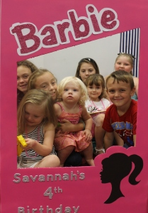Savannah's 4th Birthday Barbie Bash