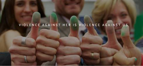 Violence Against Her is Violance Against Us (One Million Thumbprints)