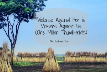 Violence Against Her is Violence Against Us (One Million Thumbprints)