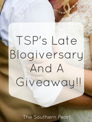 TSP's Late Blogiversary + A Giveaway!!